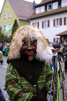 Mask, Wooden Mask, The Witch, Carnival, Fools, Foolish