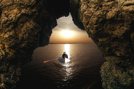 Sea, Ocean, Water, Beach, The Stones, Rocks