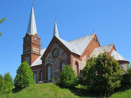 Church, Architecture, Religion, Sky, Old, Religious