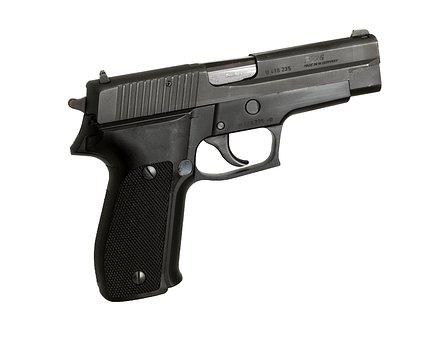 Gun, Weapon, Pistol, Force, Ammunition, 9mm, Handgun