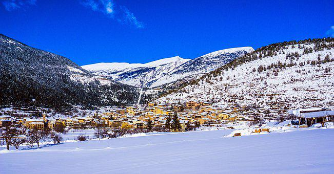 Snow, Mountain, Winter, Nature, Panoramic Image