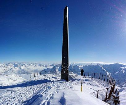 Snow, Winter, Coldly, Mountain, Sports, Sölden, Austria