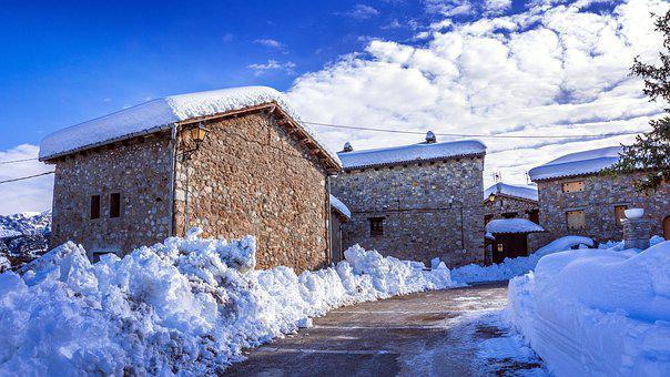 Snow, Winter, Cold, Nature, Ice, People, Rural
