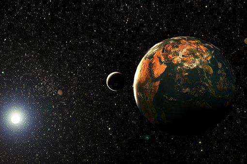 Astronomy, Planet, Moon, Galaxy, Spherical