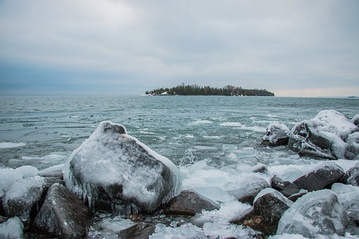 Water, Sea, Nature, Snow, Winter, Ice, Travel, Sky