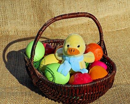 Easter Theme, Easter, Figure, Chicken, Stuffed Animal