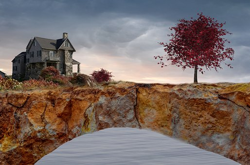 Sky, Landscape, Travel, Waters, Tree, Panorama, Rock