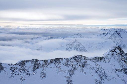 Snow, Winter, Mountain, Coldly, Mountain Peak, Nature
