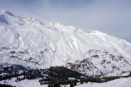 Snow, Mountain, Winter, Panoramic, Ice, Mountain Peak