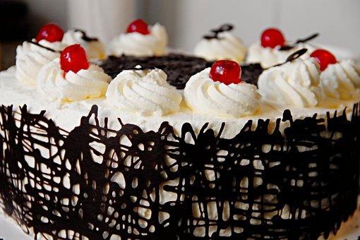 Cake, Cream Cake, Cherry Pie, Chocolate Cake, Cream
