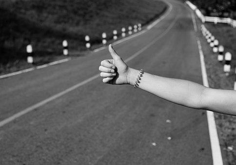 Street, People, Adult, Road, Asphalt, Arm, Gesture