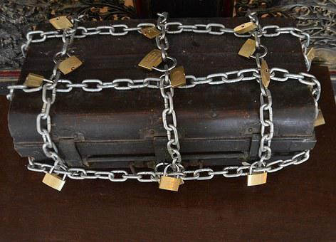 Strong Box, Chains, Locks, Box, Strength, Padlock