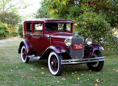 Oltimer, Vintage, Auto, Chrome, Old Car, Retro