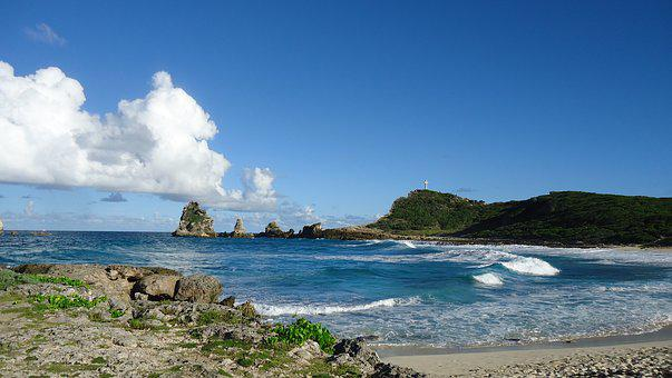 Caribbean, Sea, Sand, Island, Holiday, Caribbean Sea