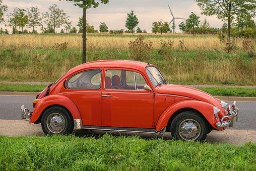 Auto, Vehicle, Vw Beetle, Volkswagen, Automotive