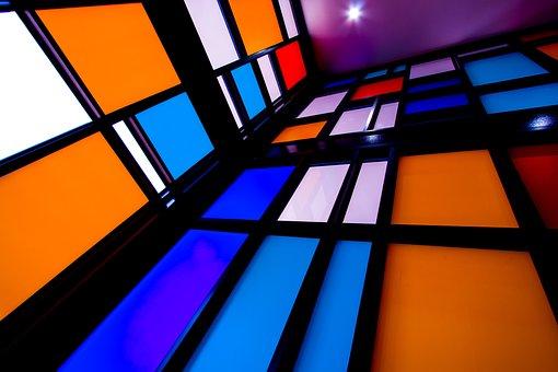 Glass Items, Bright, Light, Window, Architecture