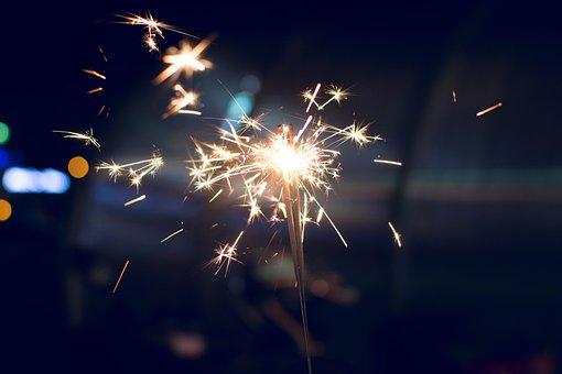 Fireworks, Bright, Christmas, Celebration, Festival