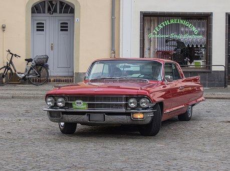 Auto, Cadillac, Oldtimer, Cars, Vehicle