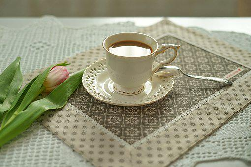 Table, Cup, Coffee, Background, Cafe, Cappuccino