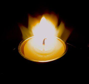 Flare-up, Candle, Warm, Brand, Candlelight, Wax, Heat