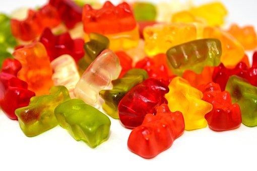 Gummibärchen, Candy, Colorful, Gummi Bears, Delicious
