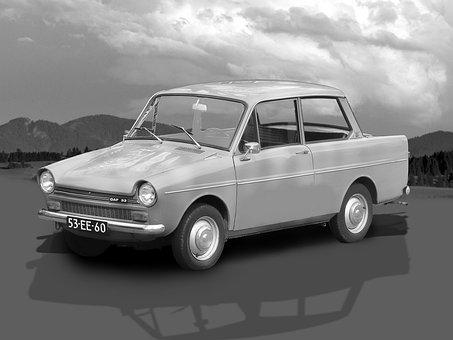 Daf, Daf 33, Daffodil, Car, Dutch Car Brand, Automotive