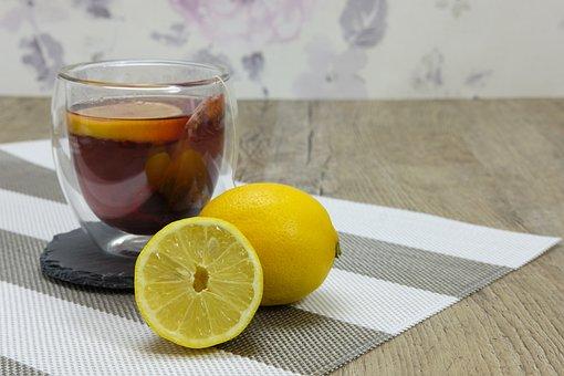 Lemon, Tee, Vitamins, Vitamin C, Warm, Hot, Drink