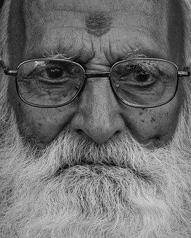Eyeglasses, Eyewear, Portrait, People, Mustache, Man
