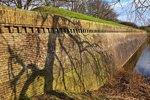 Fortress, Fortress Wall, Fortification, Moat