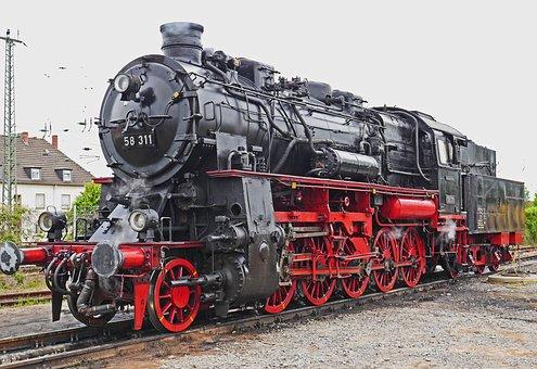 Lokportrait, Steam Locomotive, Goods Train Locomotive