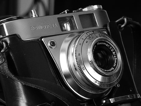 Lens, Classic, Obsolete, Antique, Equipment, Nostalgia
