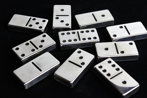 Gambling, Chance, Luck, Dice, Risk, Dominoes, Shiny