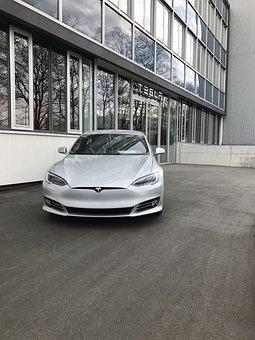 Auto, Transport System, Luxury, Modern, Tesla