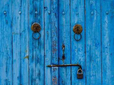Wooden, Wood, Door, Old, Desktop, Rustic, Doorknob