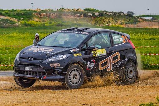 Car, Vehicle, Drive, Hurry, Wheel, Race, Rally, Track