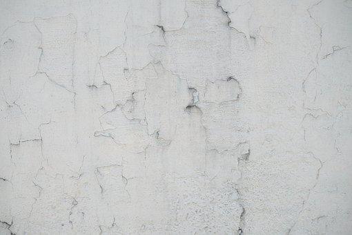 Wall, Plaster, White, Grey, Cement, Macro, Detail