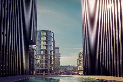 Architecture, City, Skyscraper, Building, Modern