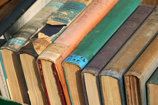Collection Of Old Books, Books, Sale, Collection, Old