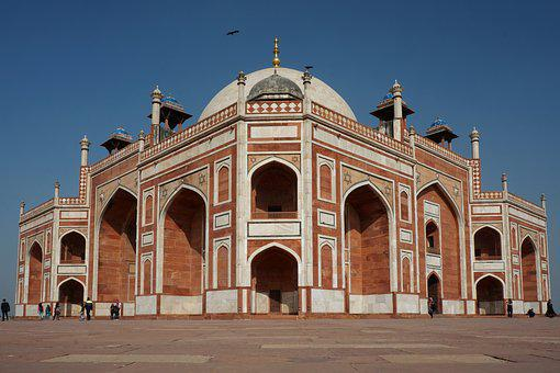 Delhi, Architecture, Travel, Building, Old, Arch