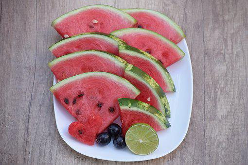 Food, Fruit, Healthy, Refreshment, Sweet, Melon, Grape