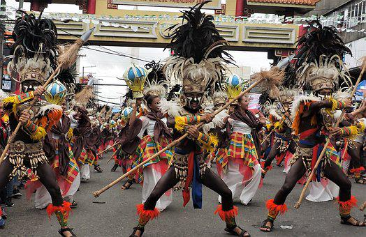 People, Parade, Festival, Group, Dancer, Street