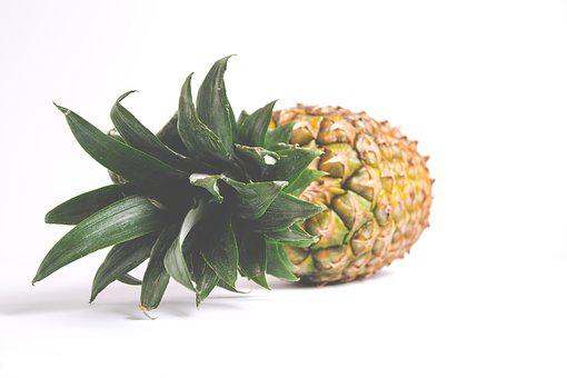 Pineapple, Nature, Isolated, Sheet, Food
