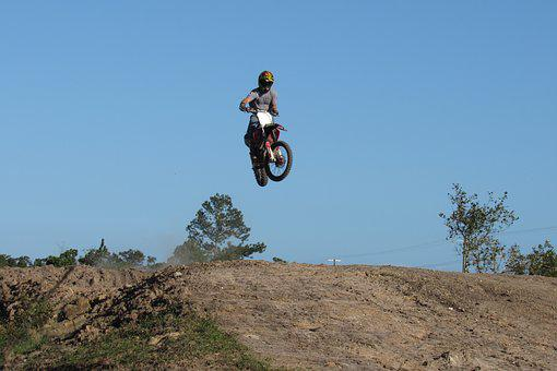 Motocross, Motorbike, Adventure, Nature, Sport, Sky