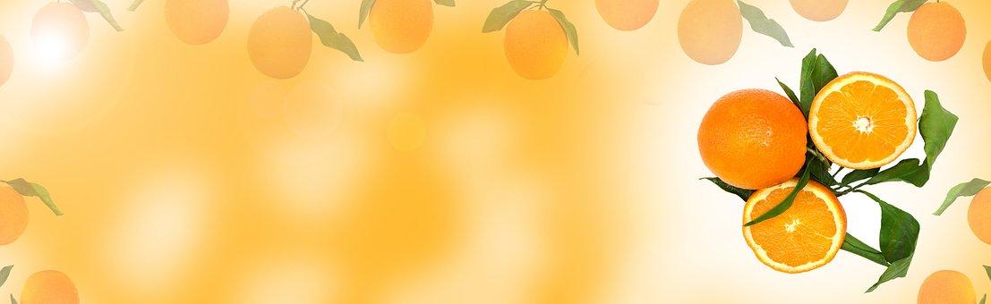 Orange Fruit, Blur, Desktop, Color, Bright, Nature