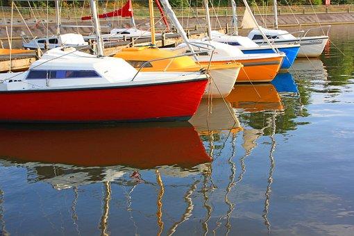 Waters, Sea, Boot, Ship, Yacht, Sailing Boat, Summer