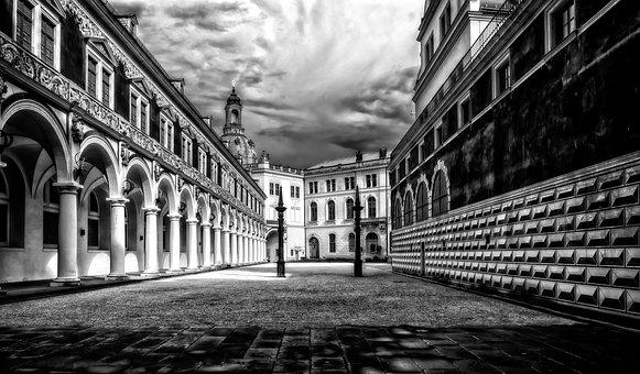 Castle, Dresden, Residence, Saxony, Places Of Interest