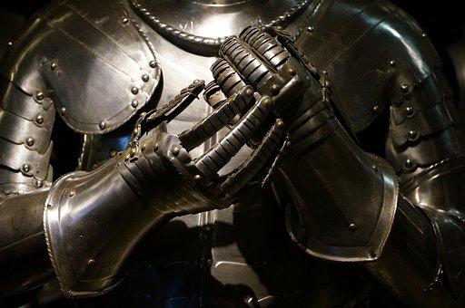 Steel, Iron, Armor, Machine, Helmet, Knight, Military
