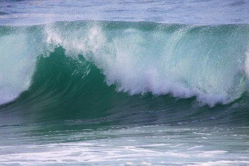 Surf, Water, Spray, Wave, Sea, Shore Break, Ocean Wave