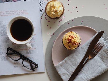 Coffee, Cup, Drink, Breakfast, Food, Chocolate, Sweet