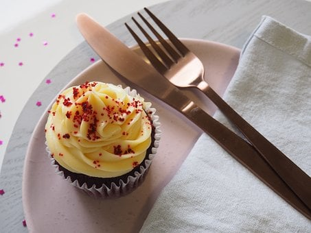 Food, Fork, Sweet, Cutlery, Cake, Knife, Plate